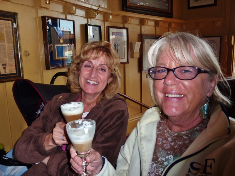 Irish Coffee at the Buena Vista San Francisco with family - The Real San Francisco
