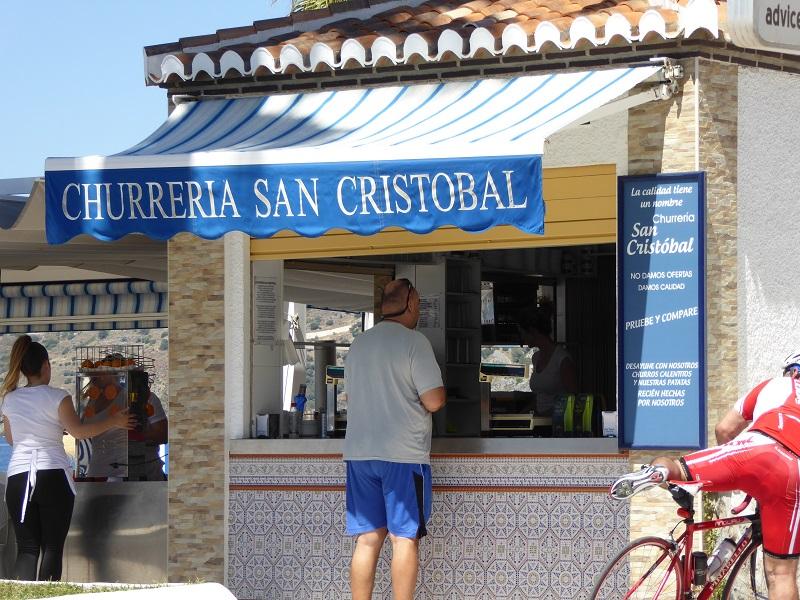 Alan Speaking Spanish for something fun, buying churros