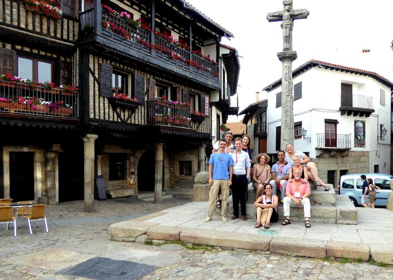 Pueblo Espanol June 2017 Spanish Conversation Course in La Alberca. plaza major