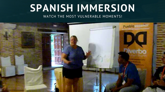 Spanish Immersion - Watch The Most Vulnerable Moments! This time it is all on the line for me, with my Spanish Immersion experience.This time it's all on video, with journals, skits, presentations & more! Read more on http://WagonersAbroad.com
