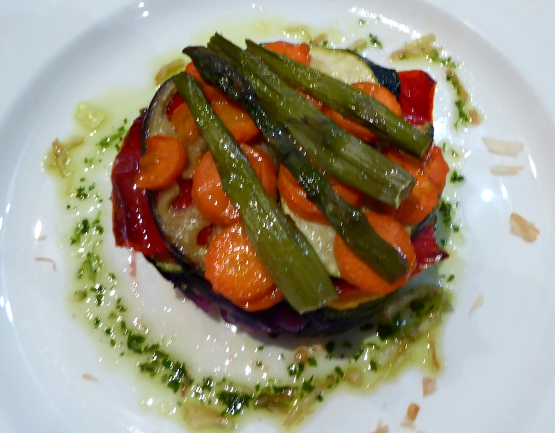 Delicious Spanish food at Hotel Dona Teresa for Pueblo Espanol