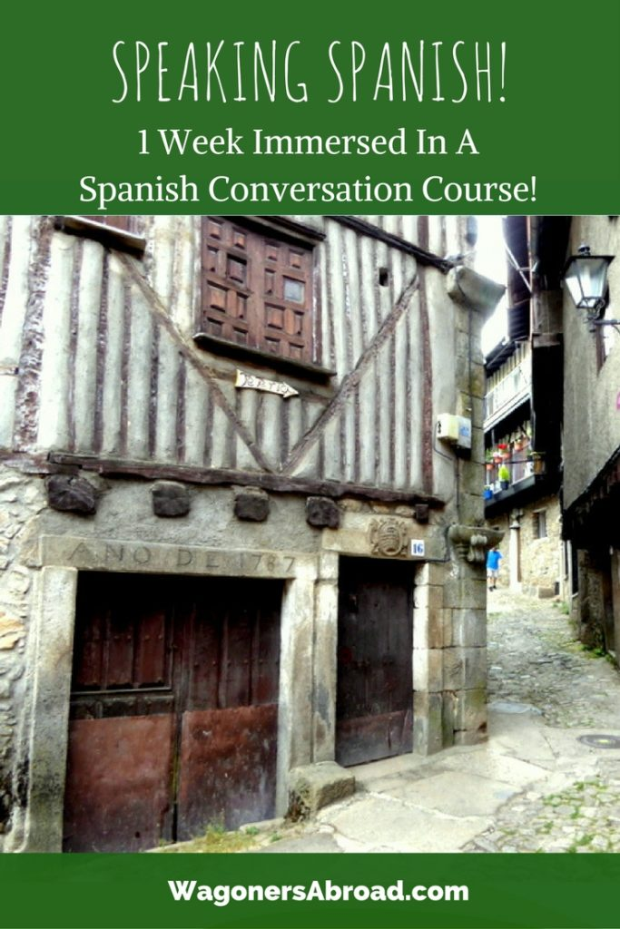 Learning Spanish with Pueblo Espanol in La Alberca Spain. Heidi tells all about her 1 week of full immersion in a Spanish conversation course.. Read more on WagonersAbroad.com
