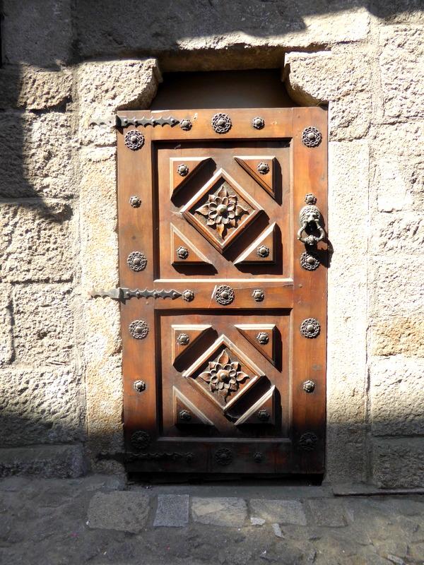 A random door in La Alberca Spain