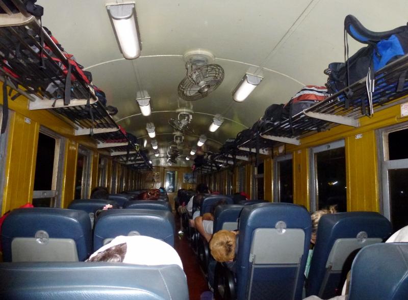 Traveling Around Thailand By Train