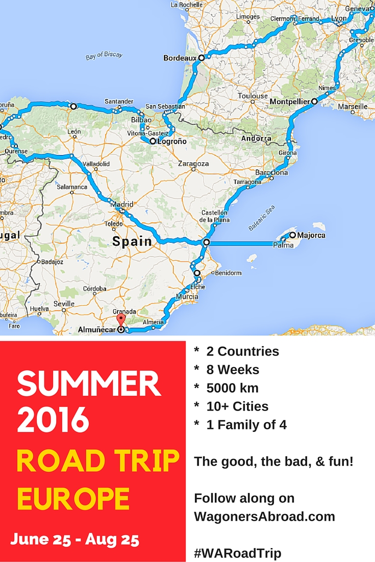An Epic 8 week Summer Road Trip in Europe  Wagoners Abroad